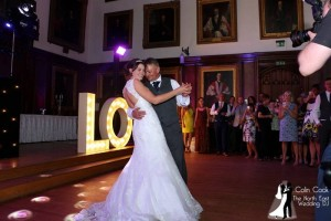 Durham Castle Father & Daughter Dance. Sarah and Alan's fun and emotional Dance together