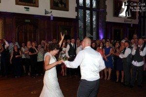 Sarah and Jason's amazing First Dance for their Wedding at Durham Castle