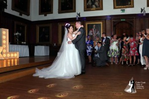 Durham Castle Wedding Disco First Dance - Recommended Wedding DJ and Master of Ceremonies Colin Cook