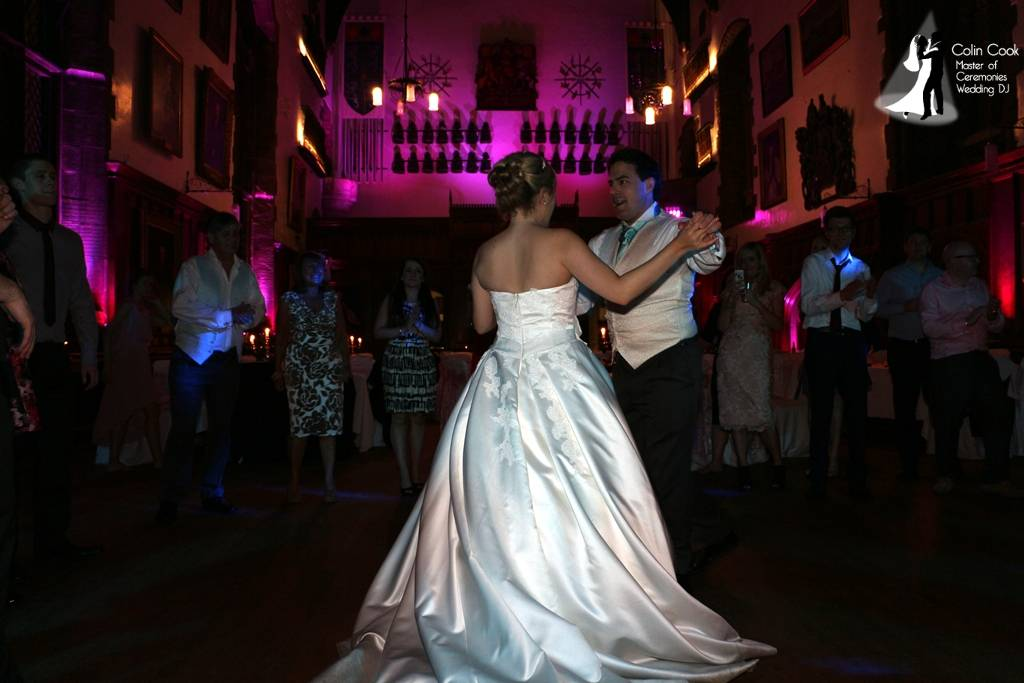 Coming to the end of another amazing Wedding at Durham Castle